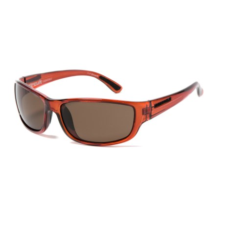 Unsinkable Circuit Sunglasses - Polarized in Caramel/Core Brown