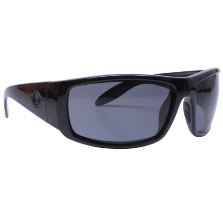 Unsinkable Galleon Sunglasses - Polarized in Ebony/Color Blast Gray