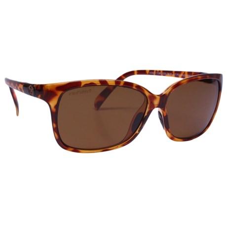 Unsinkable Karma Honey Sunglasses - Polarized (For Women) in Honey Tortoise/Color Blast Brown