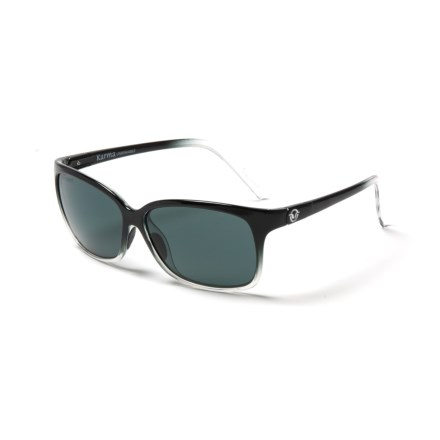 a88f6c3df1 Unsinkable Karma Sunglasses - Polarized (For Women) in Black Colorblast  Grey - Closeouts