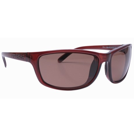 Unsinkable Kraken Sunglasses - Polarized in Caramel/Core Brown