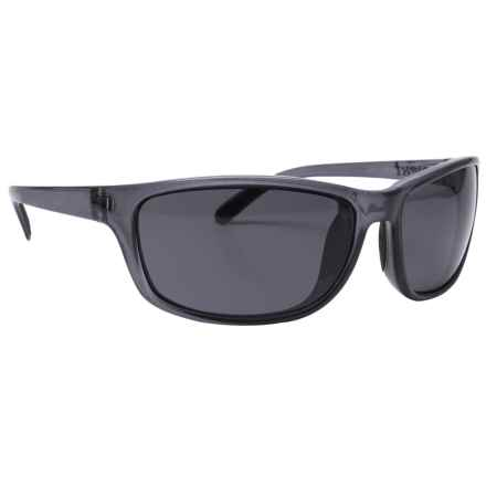 Unsinkable Kraken Sunglasses - Polarized in Ocean/Color Blast Gray - Overstock