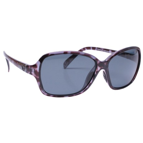Unsinkable Mystic Sunglasses - Polarized in Tropical Tortoise/Color Blast Gray