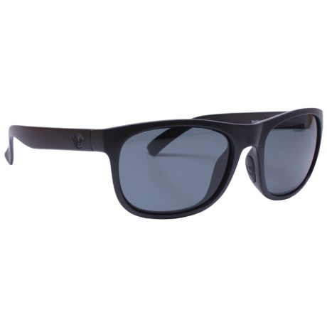 Unsinkable Nomad Sunglasses - Polarized in Raven/Color Blast Gray