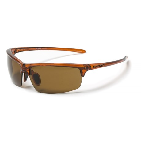 55e05949f8 Unsinkable Vapor Sunglasses - Polarized in Caramel Colorblast Brown