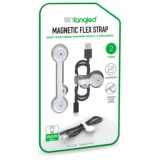 Untangled Magnetic Flex Cord Storage Strap - 2-Pack