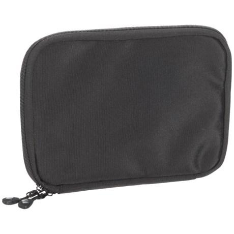 Untangled Zip Tech Organizer Pouch in Black