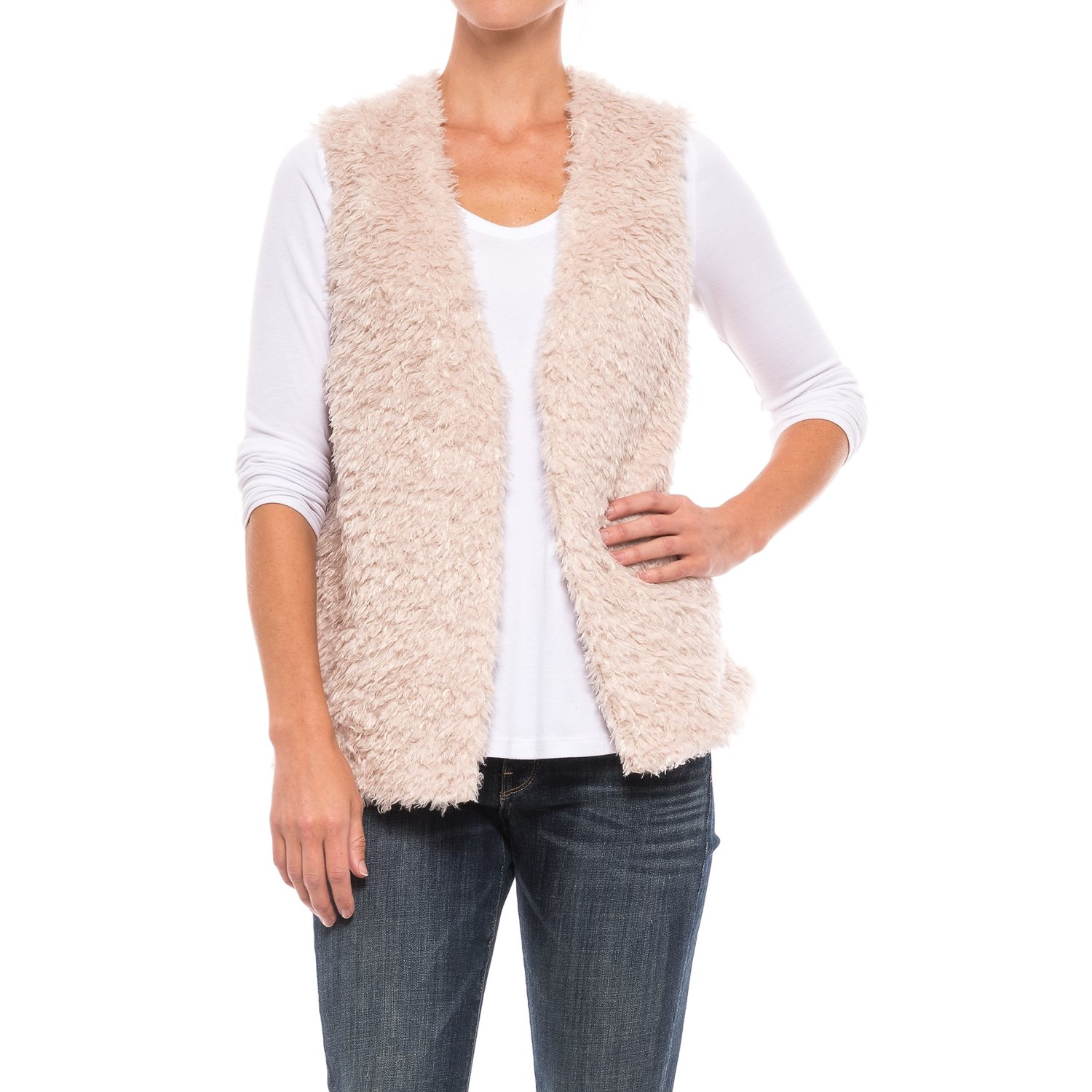 Upcountry Sherpa Vest (For Women) - Save 60%