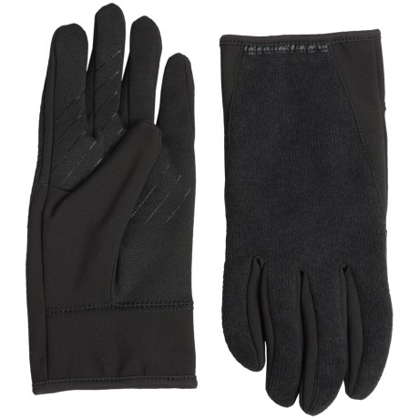 UR Powered Kelvyn Racerback Gloves - Touchscreen Compatible (For Men) in Black