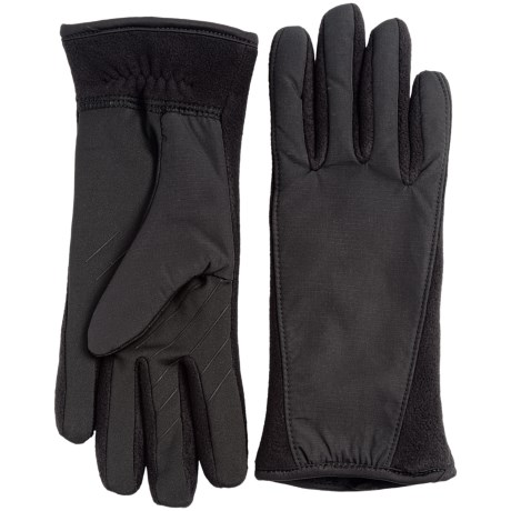 UR Powered Sydney Racerback Fleece Gloves - Touchscreen Compatible (For Women) in Black