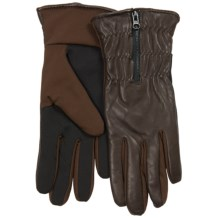 UR Powered Zoey Gloves - Insulated, Touchscreen Compatible (For Women) in Brown - Closeouts