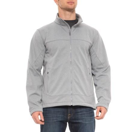 fbd7cf6b Urban Frontier Bonded Fleece Jacket - Full Zip (For Men) in Grey/White