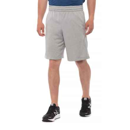 Urban Frontier French Terry Elastic Band Shorts (For Men) in Grey Heather - Overstock
