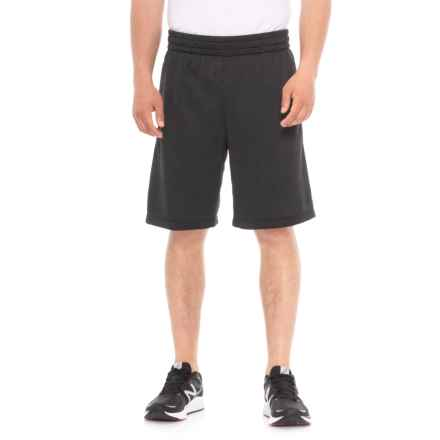 Urban Frontier French Terry Elastic Band Shorts (For Men) in Grey Stone - Overstock