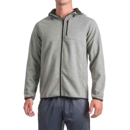 Urban Frontier Heavy Jersey Hoodie - Full Zip (For Men) in Grey - Closeouts