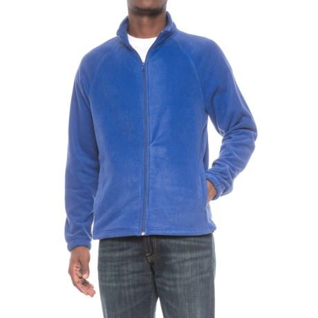 Urban Frontier Polar Fleece Jacket - Full Zip (For Men) in Royal Purple