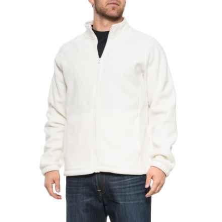 4597fc1ca49cf Urban Frontier Polar Fleece Jacket - Full Zip (For Men) in White - Closeouts