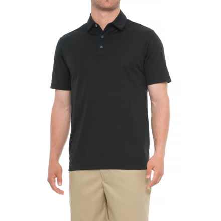 Urban Frontier Polo Shirt - Short Sleeve (For Men) in 001 Black - Overstock