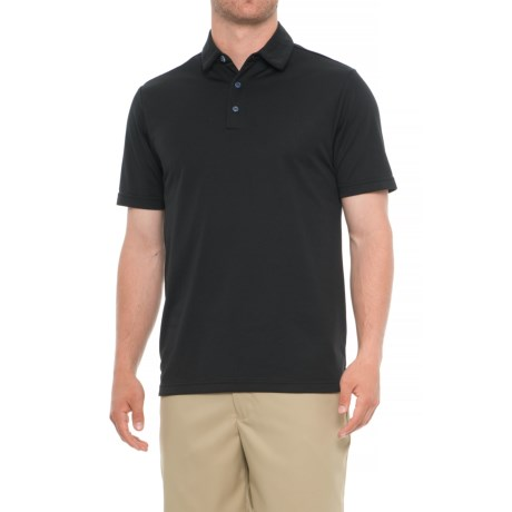 Urban Frontier Polo Shirt - Short Sleeve (For Men) in 001 Black