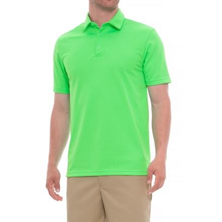 adde9ade Urban Frontier Polo Shirt - Short Sleeve (For Men) in Lime Green - Overstock