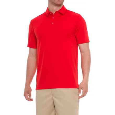 Urban Frontier Polo Shirt - Short Sleeve (For Men) in Tomato - Overstock