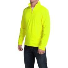 Urban Frontier Tech Pullover Shirt - Zip Neck, Long Sleeve (For Men) in Neon Light - Closeouts
