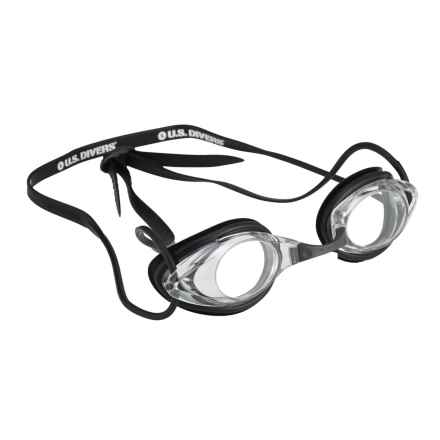 U.S. Divers Swift Swim Goggles in Black - Overstock
