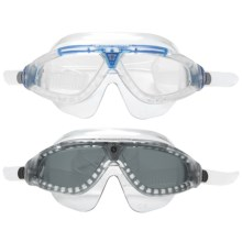 U.S. Divers Swim Mask - 2-Pack in Clear Blue/Clear Clear Charcoal/Grey - Closeouts