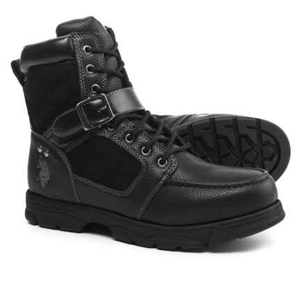 U.S. Polo Assn. Braydon Winter Boots (For Men) in Black - Closeouts