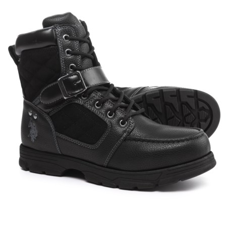 U.S. Polo Assn. Braydon Winter Boots (For Men) in Black
