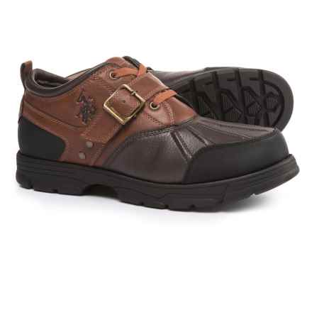U.S. Polo Assn. Clancy II Low Duck Boots (For Men) in Redwood/Brown - Closeouts