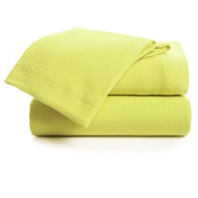 U.S. Polo Assn. Cotton Jersey Sheet Set - Queen in Key Lime - Closeouts