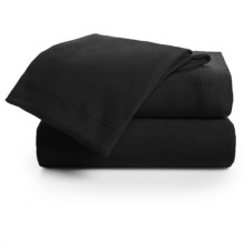U.S. Polo Assn. Cotton Jersey Sheet Set - Twin in Black - Closeouts