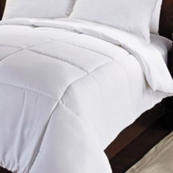 U.S. Polo Assn. Down Alternative Comforter - King in White