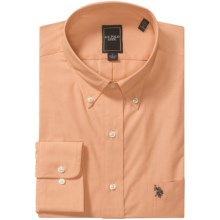 U.S. Polo Assn. Easy-Care Shirt - Button-Down Collar, Long Sleeve (For Men) in Orange - Closeouts