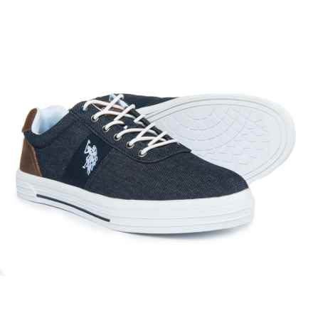 U.S. Polo Assn. Helm Sneakers (For Men) in Denim - Closeouts