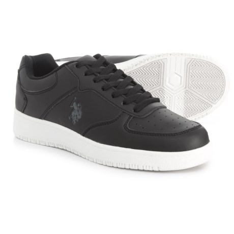 Image of U.S. Polo Assn. Jayson Low Sneakers - Vegan Leather (For Men)