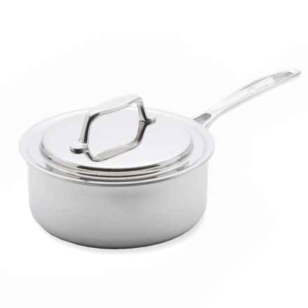 """USA Pan Saucepan with Cover - 7"""" in Stainless Steel - Overstock"""