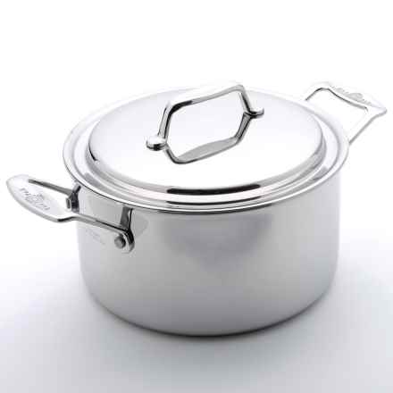 USA Pan Stock Pot with Cover - 4 qt. in Stainless Steel - Overstock