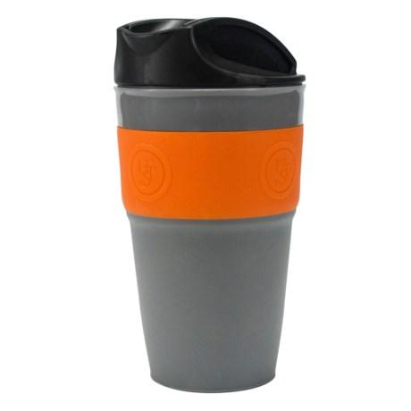 "UST Flexware Travel Mug - 6"" in Gray/Orange"