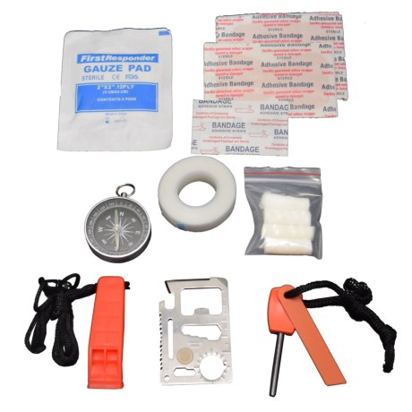 UST Heritage Survival Kit - 25-Piece in See Photo