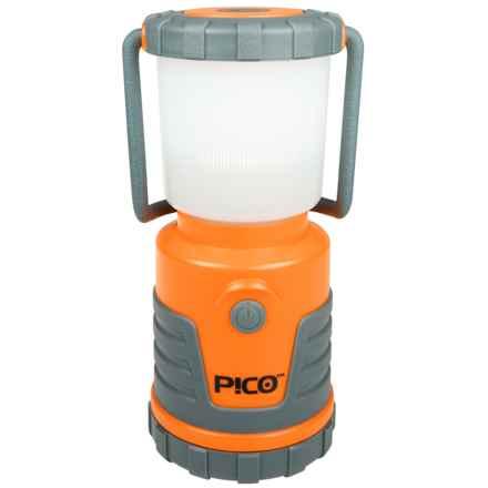 UST Pico Lantern - 120 Lumens in Orange W/Frosted Globe - Closeouts