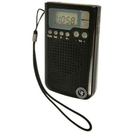 UST Weatherband Radio in Black - Closeouts