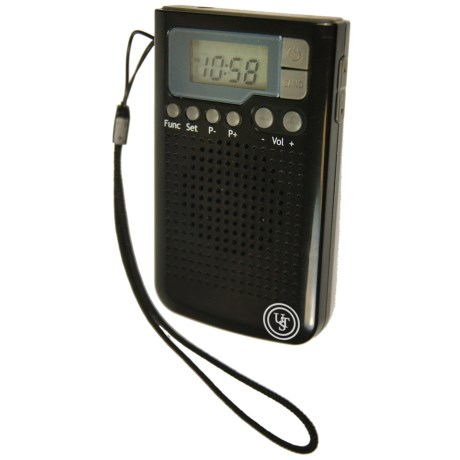 UST Weatherband Radio in Black