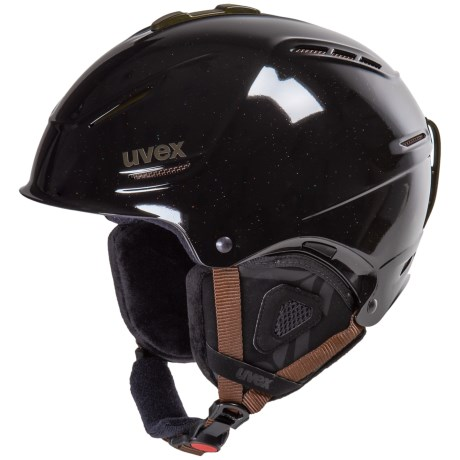 uvex p1us Pro WL Ski Helmet (For Women) in Black Skyfall