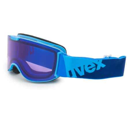 uvex Skyper SL STIMU Ski Goggles (For Women) in Cyan/Psycho - Closeouts