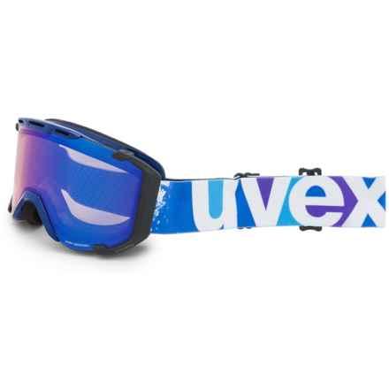 uvex Snowstrike VFM Variomatic Ski Goggles in Indigo/Lite Mirror Blue - Closeouts