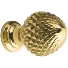 Valsan Brass Pineapple Finial Knob in Brass - Closeouts