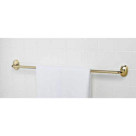 "Valsan Carlton Towel Bar - 24"" in Brass"