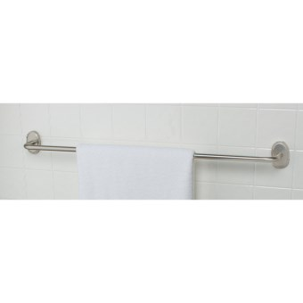 "Valsan Carlton Towel Bar - 24"" in Matte Nickel"